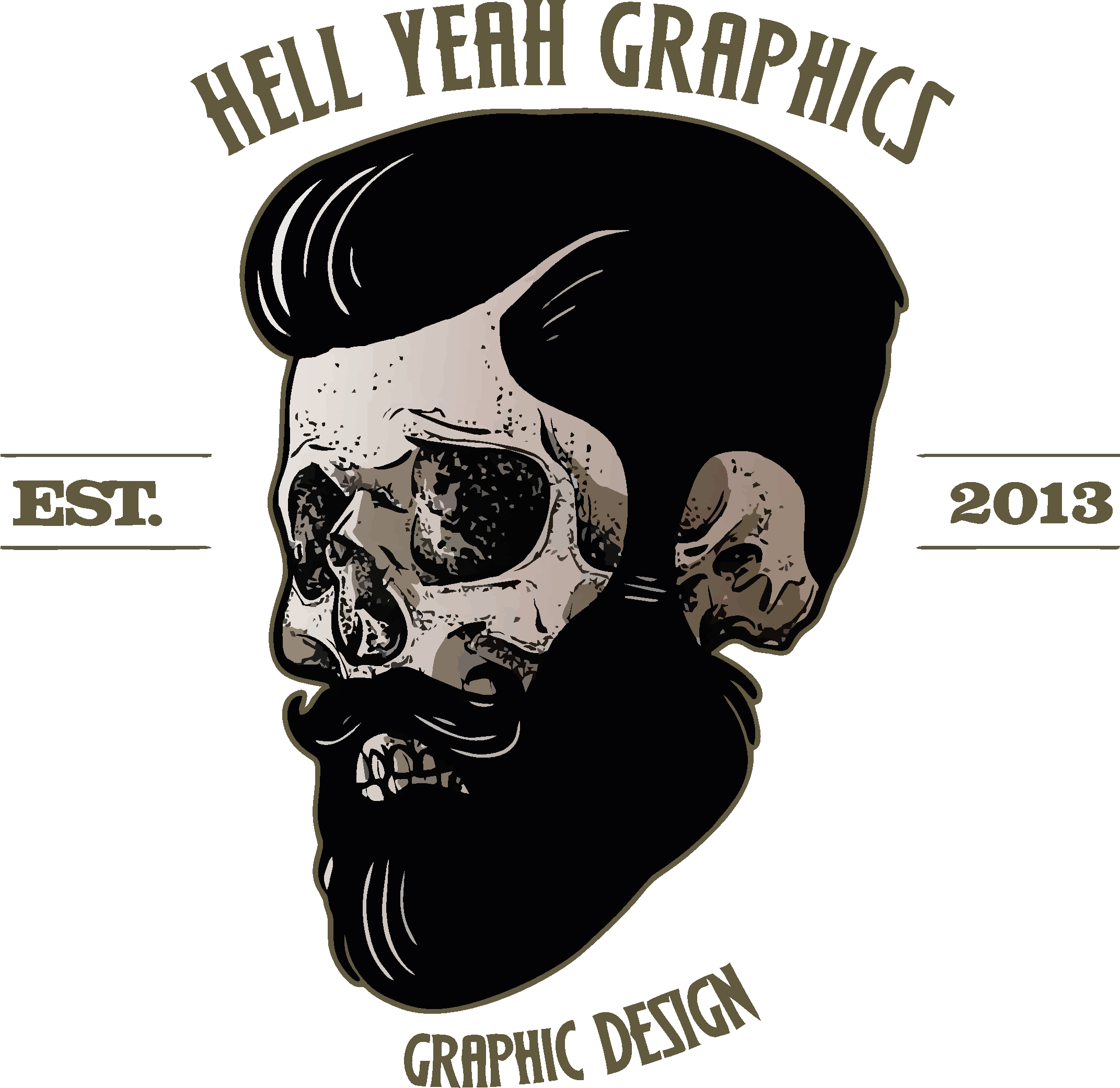 Hell Yeah Graphics logo simple