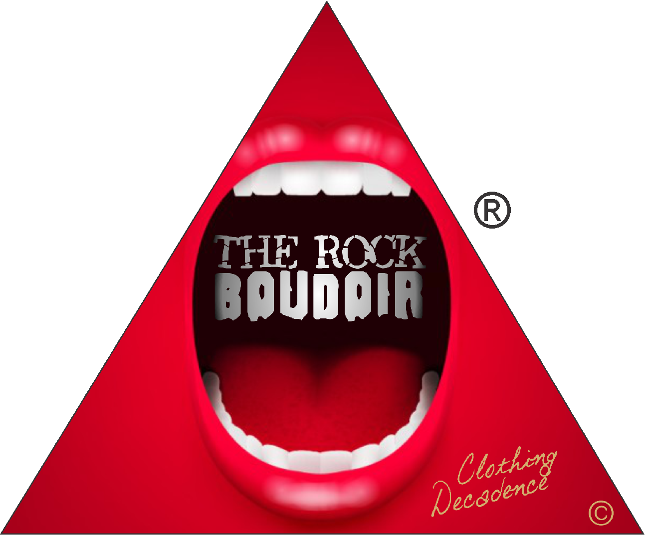 The Rock Boudoir Logo TM